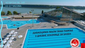 6.jula dobrovoljno davanje krvi - sportski centar Milan Gale Muškatirović
