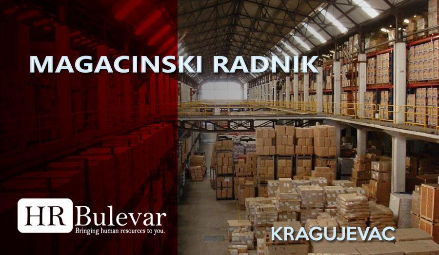 HR Bulevar, Poslovi Bulevar, Kragujevac, Kragujevac poslovi, Magacin, Magacinski radnik