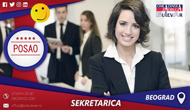 Poslovi preko omladinske zadruge, Omladinska zadruga, Studentska, zadruga Beograd, poslovni sekretar