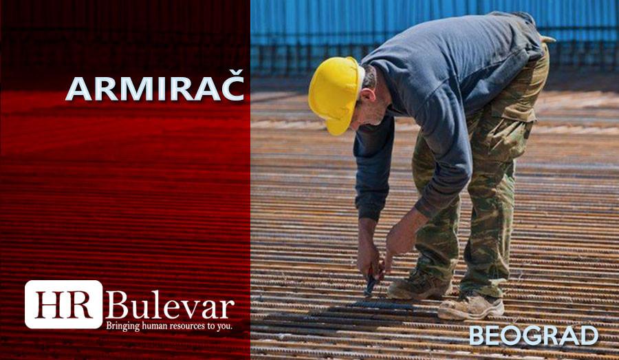 HR Bulevar, Poslovi Bulevar, Beograd, armirač