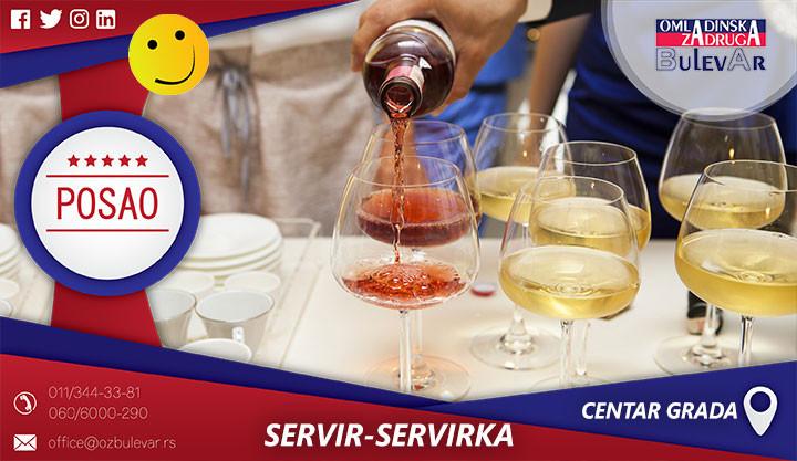Beograd, Poslovi preko omladinske zadruge, Omladinska zadruga, konobar, kelner