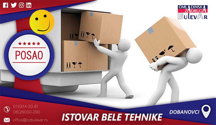 Poslovi preko omladinske zadruge, Omladinska zadruga, poslovi, Beograd, ISTOVAR ROBE U MAGACINU