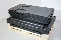 Dismantled Thermo Pallet Plates