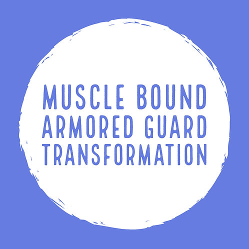 Muscle Bound Armored Guard
