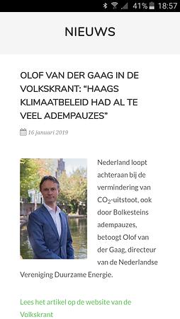 Foto Olof van Der Gaag