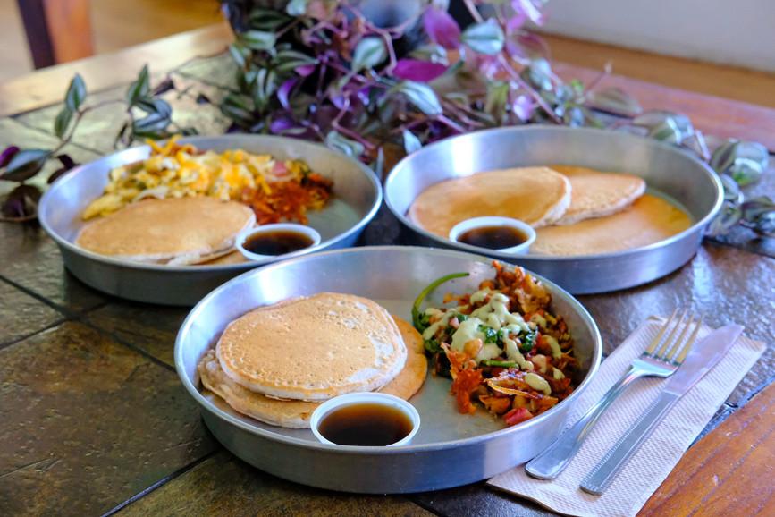 Vegan breakfast in San Marcos, Texas