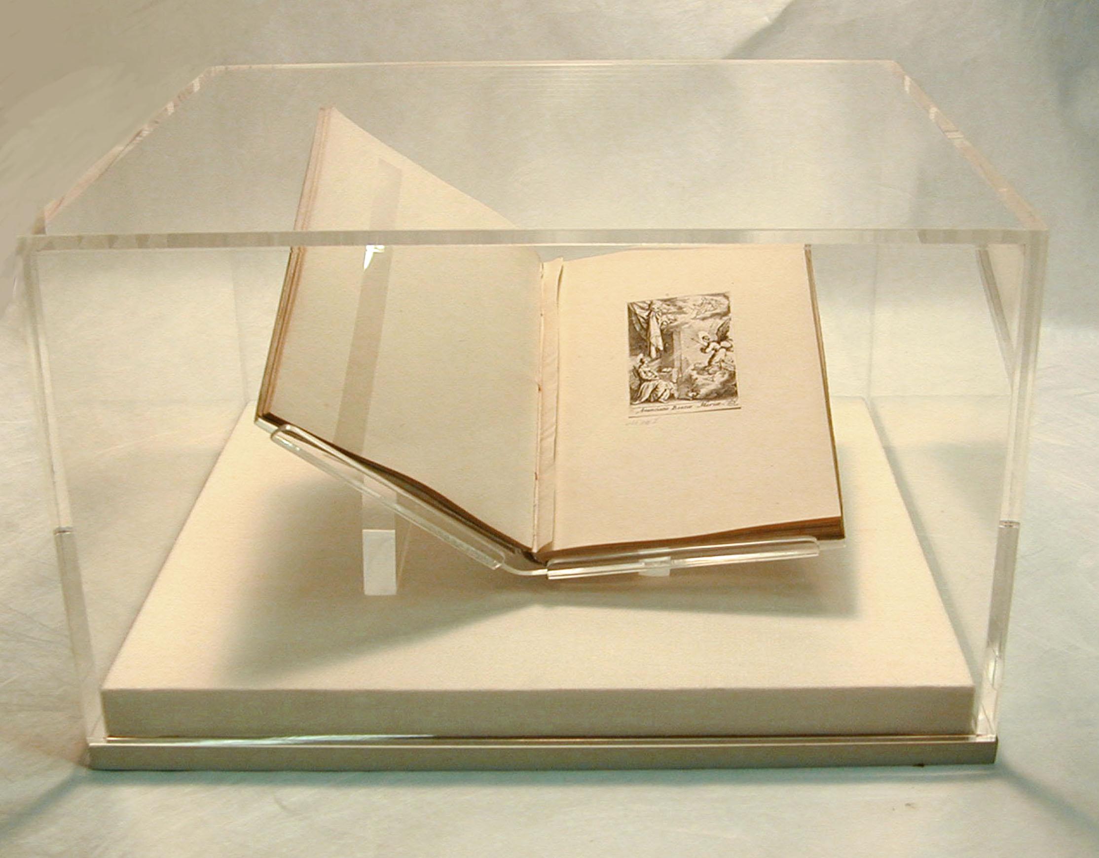 Custom Acrylic Book Cradle