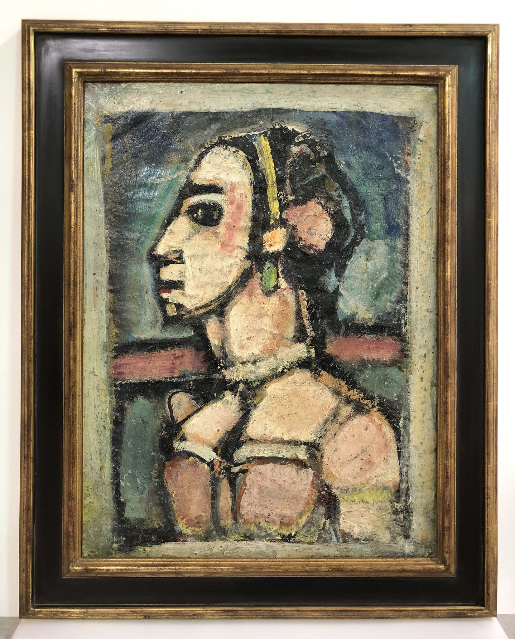 Painting by Georges Rouault