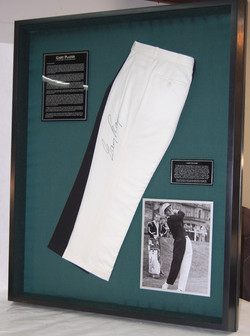 Display for Gary Player pants