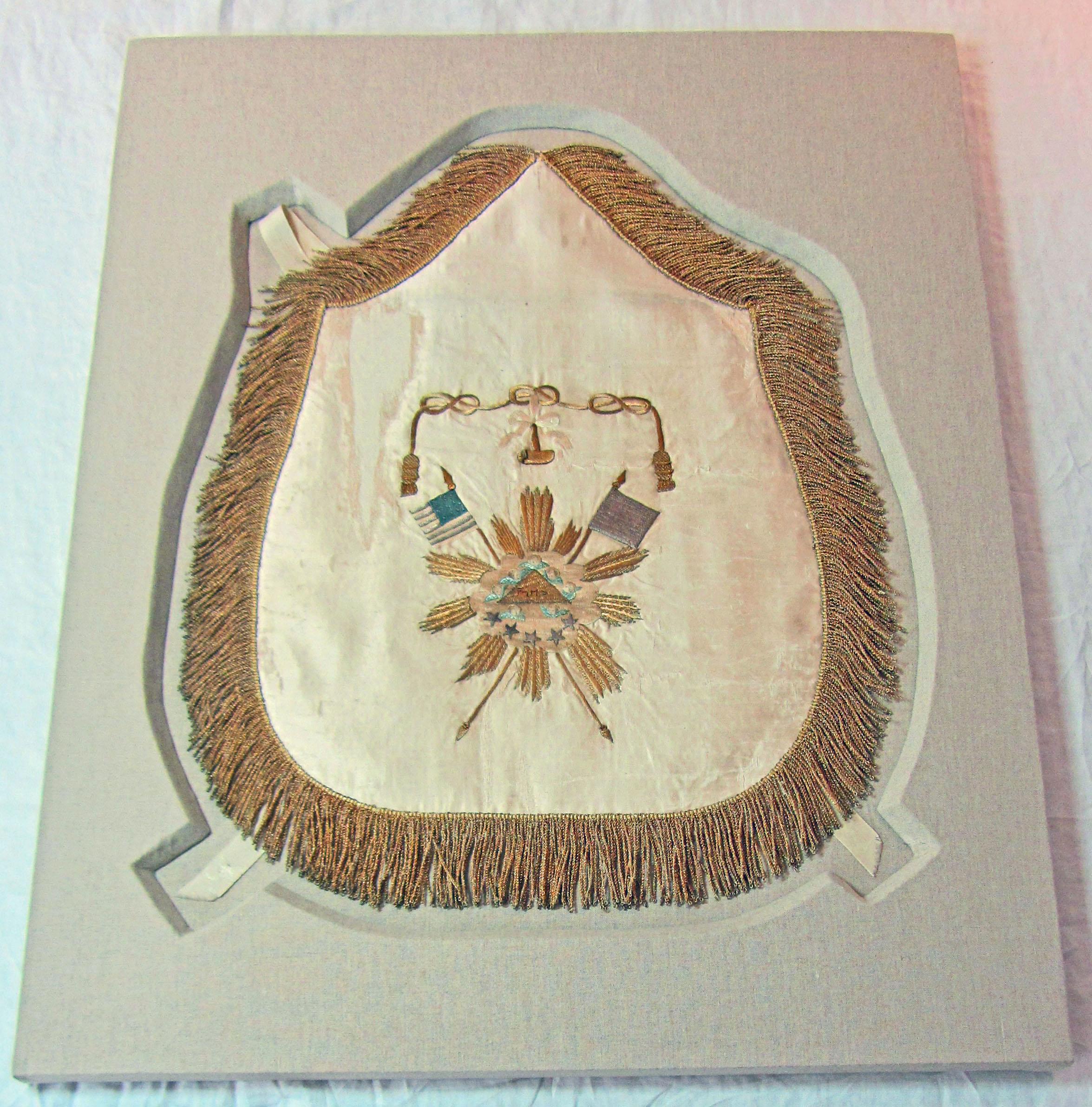 Mount for Masonic Apron