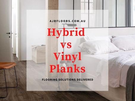 Hybrid Flooring vs Vinyl Planks?