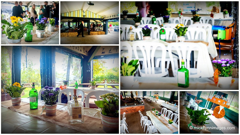 Our venue dressed for a recent wedding