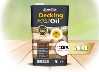 Anti-slip Decking Oil
