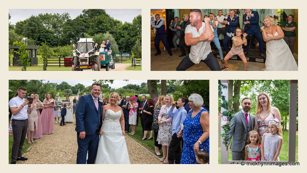 The recent wedding of Kelly and Jules.