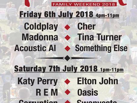 Tribute Festival Update