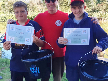 Fishing tuition prize winners and spooky news.