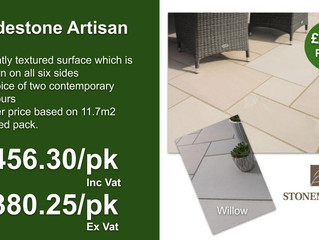 Tradestone Artisan paving offer