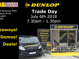 Dunlop Trade Day 6th July