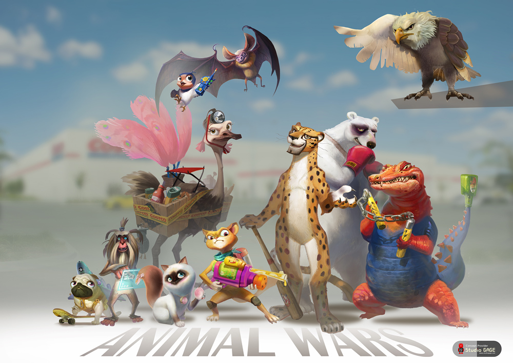 Animal warssss