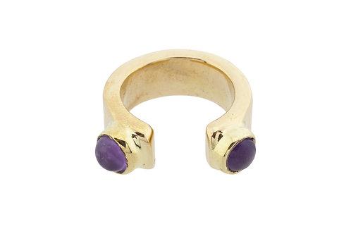 Escarcha Amthist Ring