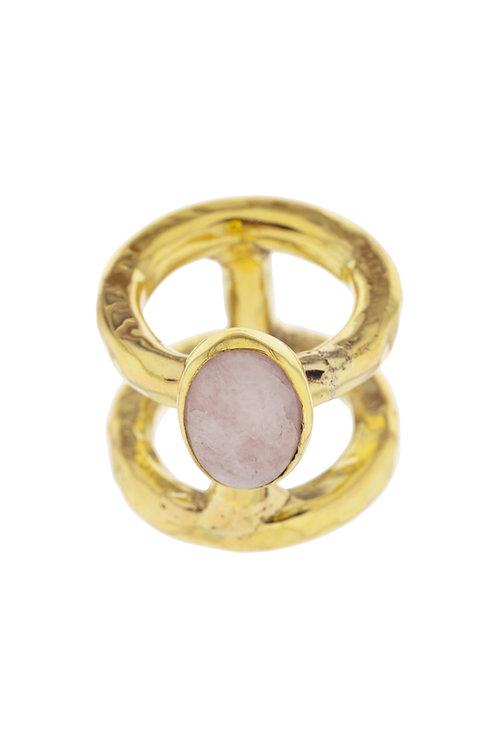 T Pinkopal Ring