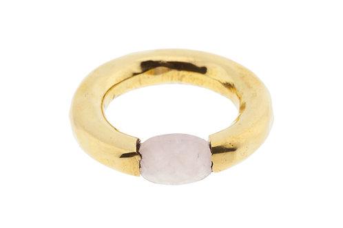 Ring Rose Quarz