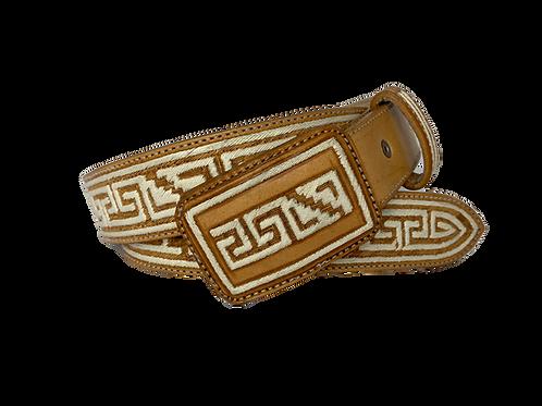 Cinto Piteado tipo Cordón y Azteca