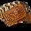Thumbnail: Cinto de Soga con Terminado Láser y Cincelado
