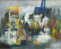 Walter Battiss Smoke and Light