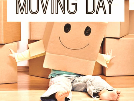 STRESS BUSTING TIPS FOR MOVING DAY