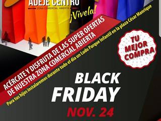 Black Friday en Zona Comercial Abierta Adeje Centro