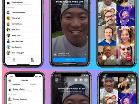 Messenger Rooms,une application de facebook pour visioconférence