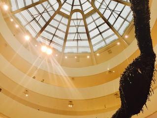 ユニークなのは外観だけじゃない!グッゲンハイム美術館