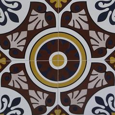 Art Deco Cement Tile