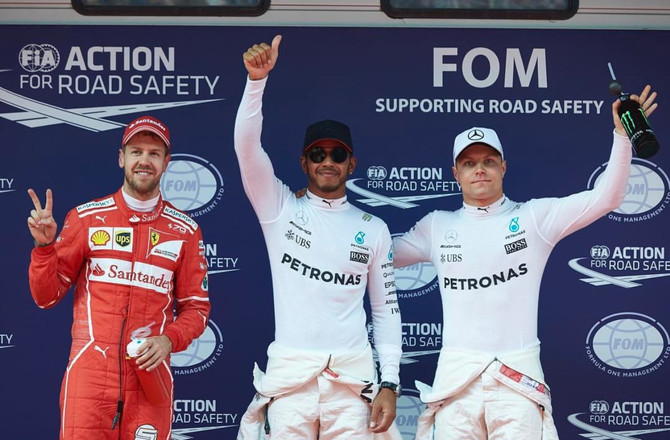 Hamilton and Vettel time to battle