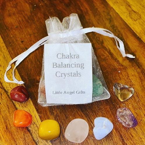 Chakra Balancing Crystal Bag