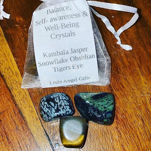 Balance, Self Awareness & Well- Being Crystals