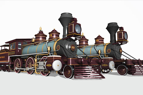 1876 BLW Moguls EFDPII no.89 & no.99