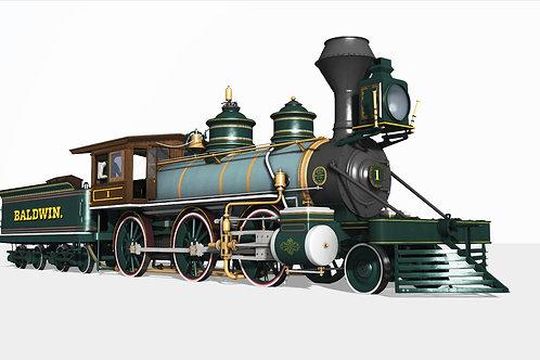 1876 BLW Mogul Baldwin Version no.1