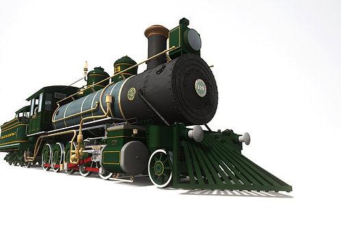 1885 Baldwin Decapod no.119 (EFDPII Pack)