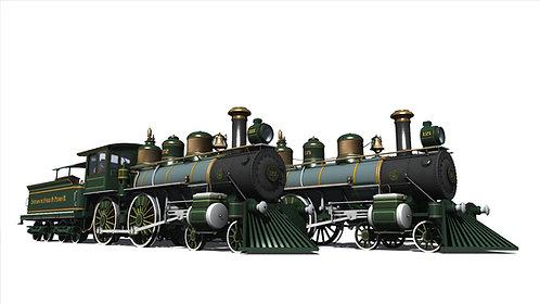 1889 BLW EFDPII Americans No.121 & No.122 + Passenger Set