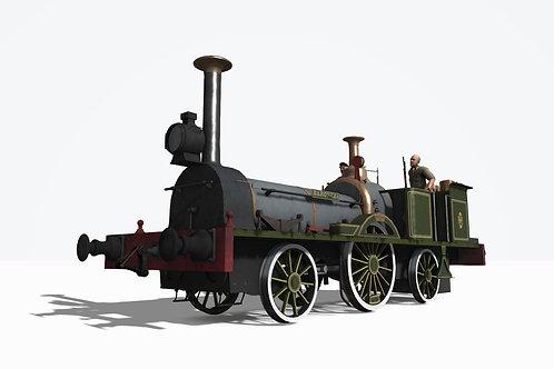 1852 William Fairbairn & Sons EFM (Baroneza Pack)