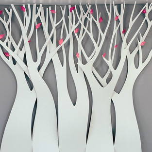 """Офис""""GAUDI"""". Декоративные деревья."""