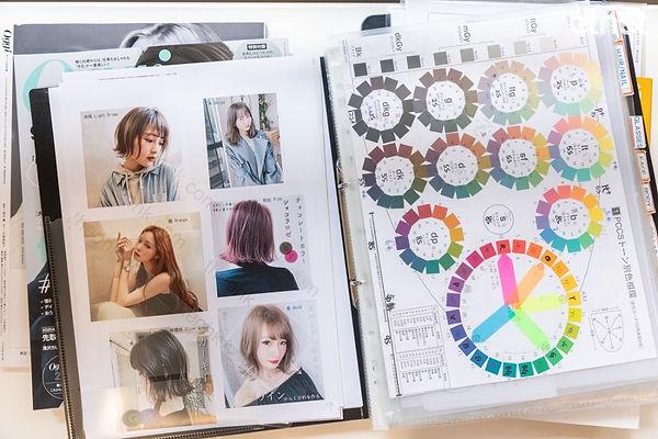 色彩分析 髮色