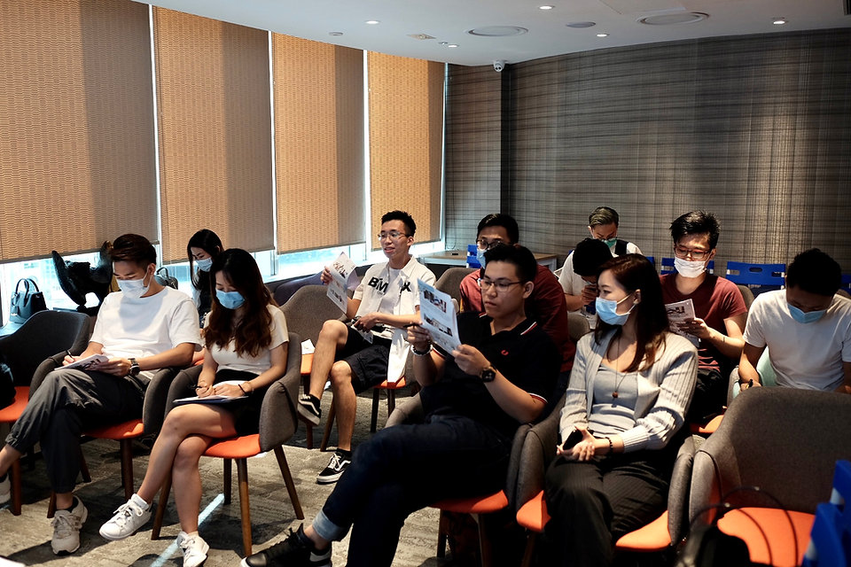 Workshop for Sales Industry