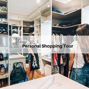 Personal Shopping Tour