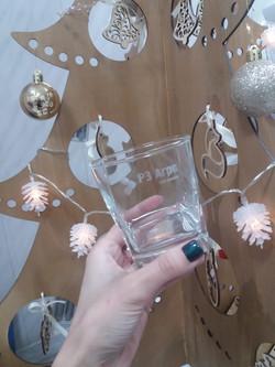 гравировка на стакане