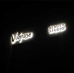 объёмные буквы с подсветкой