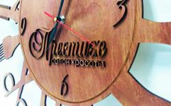 часы лазерная резка