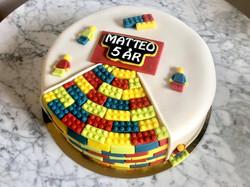 LEGO-tårta Matteo